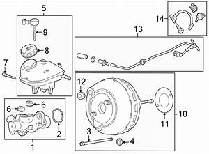 Buick Regal Pin  Master  Cylinder  Brake  Reservoir  2 0