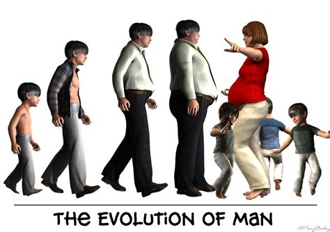 The Evolution Of Man By Eatingandbreeding On Deviantart