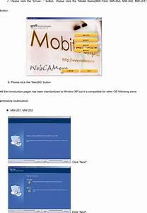 Mobitechplus Mw1350 Usb Pc Camera User Manual General User