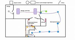 Need Help With Basement Wiring Issue  Wiring Diagram In Link  Details In Comments   Electricians
