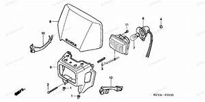 Honda Motorcycle 2004 Oem Parts Diagram For Headlight