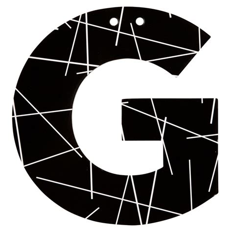letter g black and white black and white wall letter g the land of nod