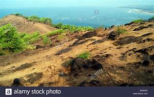 Exploring Goa India Scenic rocky cliff View and Aerial ...