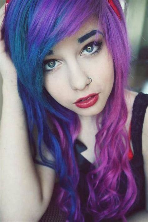 Purple Hair For Women 35 Excessively Radical Touches