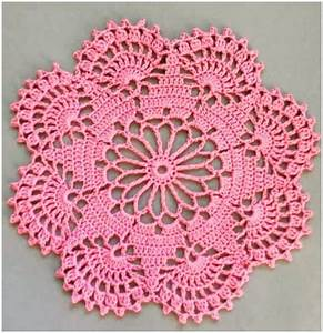 How To Easily Crochet Doily With Free Pattern