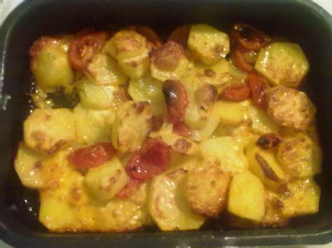 Patate saporite al forno   Pomodori verdi fritti