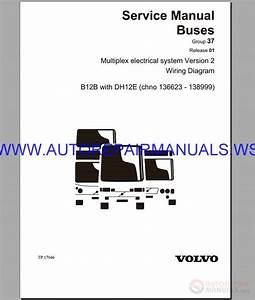 Volvo B12b Wiring Diagram Service Manual Buses