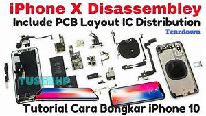 Iphone X Disassemble With Pcb Layout