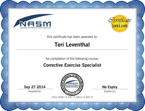 Personal Certificate Template by Personal Trainer Certificate Template Search Results