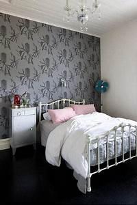 Papier Peint Chambre À Coucher : papier peint de chambre coucher ou comment dynamiser la pi ce ~ Nature-et-papiers.com Idées de Décoration