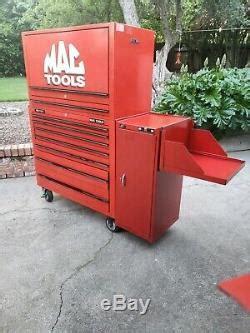 mac tools mb tool box roll  storage chest garage