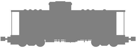 Train Caboose Silhouette