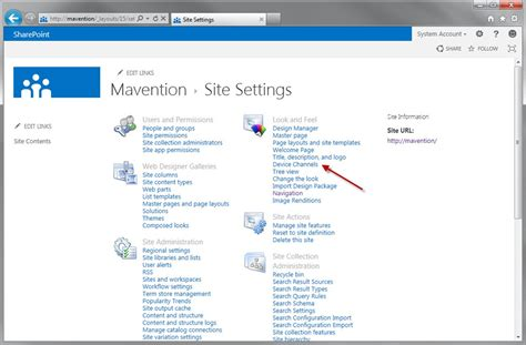 Device Channels In Sharepoint 2013
