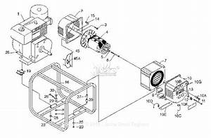 Powermate Formerly Coleman Pm0525020 Parts Diagram For