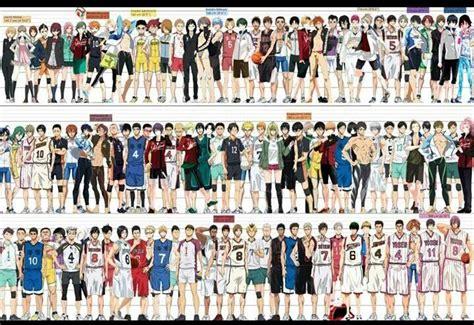 With ayumu murase, kaito ishikawa, yu hayashi, satoshi hino. Sports anime height comparison chart (LQ, looking for original)   Haikyuu anime, Haikyuu ...
