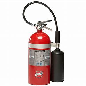Buckeye 10 lb. Carbon Dioxide BC Fire Extinguisher ...