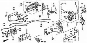 Door Lock For 2000 Honda Civic Coupe