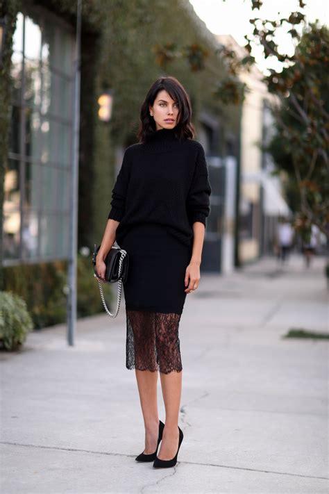 VivaLuxury - Fashion Blog by Annabelle Fleur JUST BLACK
