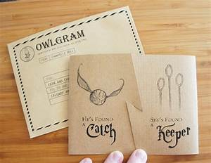 quidditch inspired invites for a harry potter themed With harry potter wedding invitations template