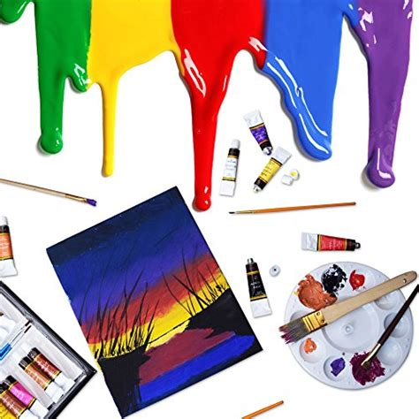 acrylic paint set 24 colors by crafts 4 all perfect for