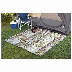 4 pk interlocking camp floor tiles realtree ap 283199 With venture outdoors campsite flooring
