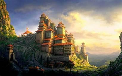 Castle Fantasy Wallpapers Kingdom Laptop Desktop Backgrounds