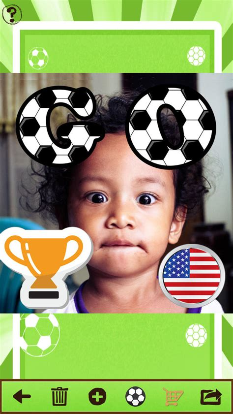 apps to make fan edits football fan photo image editing app for soccer pictures