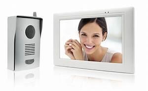 Interphone Video Somfy : thomson lance son interphone vid o sans fil le blog avidsen ~ Edinachiropracticcenter.com Idées de Décoration