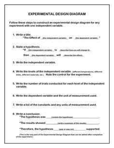 Printables Experimental Design Worksheet Scientific Method Answer Key Mywcct Thousands Of