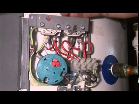 how to change a megaflo immersion heater thermostat