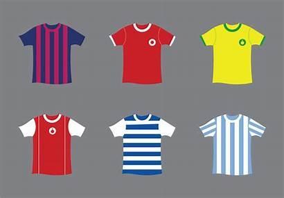 Football Kit Vector Illustration Vectors Flat Shirt