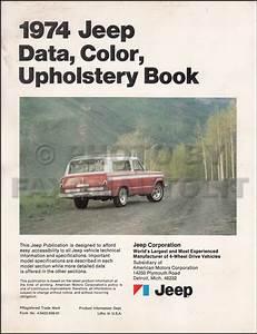 1974 Jeep Repair Shop Manual Original