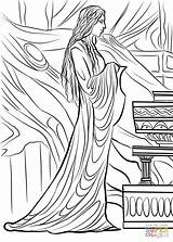Lothlorien Gandalf Licorice Anillos Dibujos Supercoloring Dingwall sketch template