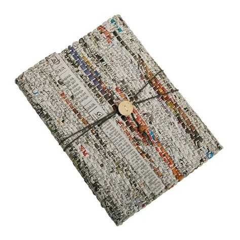 recycled newsprint journal global gifts