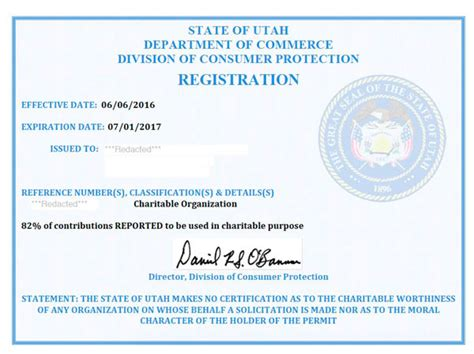 utah fundraising registration harbor compliance