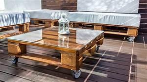 Palette Salon De Jardin : fabriquer salon de jardin en palette de bois 35 id es cr atives ~ Nature-et-papiers.com Idées de Décoration