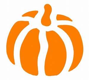 Vintage Kids Printable - Halloween Pumpkin Stencil