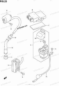 Suzuki Motorcycle 2002 Oem Parts Diagram For Electrical