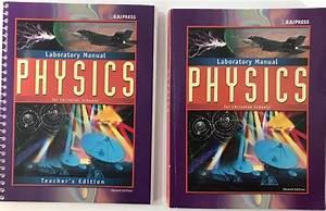Bju Press Physics Lab Manual Teacher U0026 39 S Edition 2nd 2002