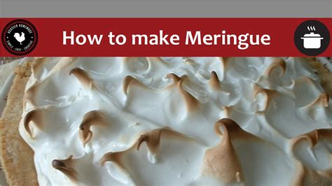 how to make meringue baking 101 how to make meringue with hoosier homemade youtube