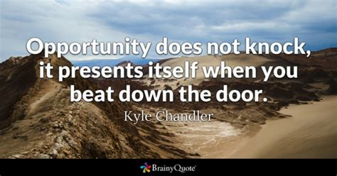 opportunity   knock  presents