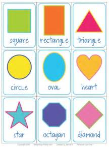 5 best images of printable color flash cards shapes preschool printable shapes flash cards