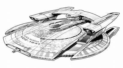Trek Discovery Concept Star Uss Starship Ships