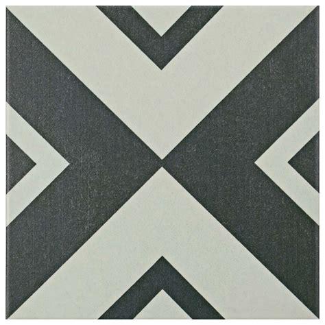 tile f merola tile twenties vertex 7 3 4 in x 7 3 4 in ceramic floor and wall tile frc8twev the