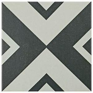 Merola Tile Twenties Vertex 7-3/4 in x 7-3/4 in Ceramic