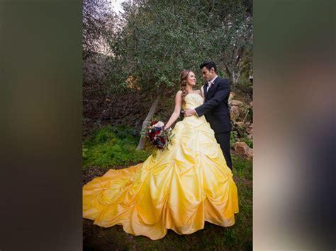 enchanting beauty   beast wedding shoot