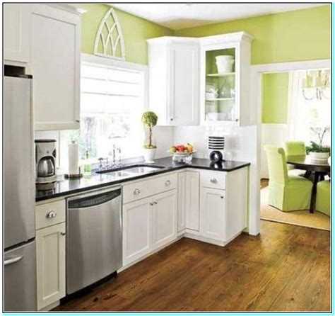 paint colors for small kitchens with white cabinets