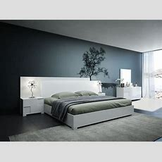 Modrest Monza Italian Modern White Bedroom Set Modern