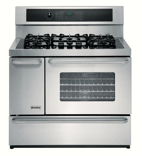 kenmore elite 75603 40 quot oven dual fuel range w