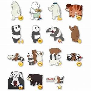 We Bare Bears Stickers 4 Telegram